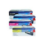 Brother TN-340BK, C, M, Y Set of 4 Colour Toner Cartridges