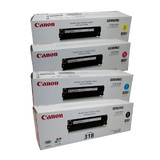 Canon CART-318BK, C, M, Y Set of 4 Colour Toner Cartridges