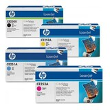 HP CE250X CE251A CE252A CE253A 504A/X Set of 4 Colour Toner Cartridges