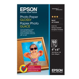 Epson Glossy Photo Paper 6 x 4 50 Sheets